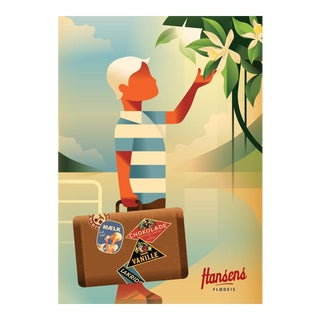 Danish Modern Travel Poster, Hansens Boy