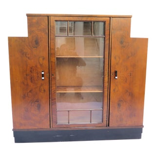 Art Deco Display/Buffet Cabinet