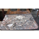 Image of De Bournay Champagne Table With Marble Top