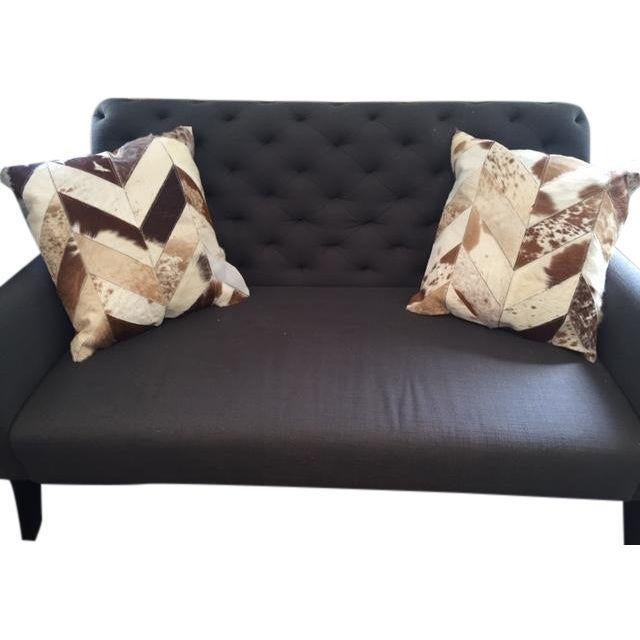 Nourison Cowhide Pillows - A Pair - Image 2 of 7