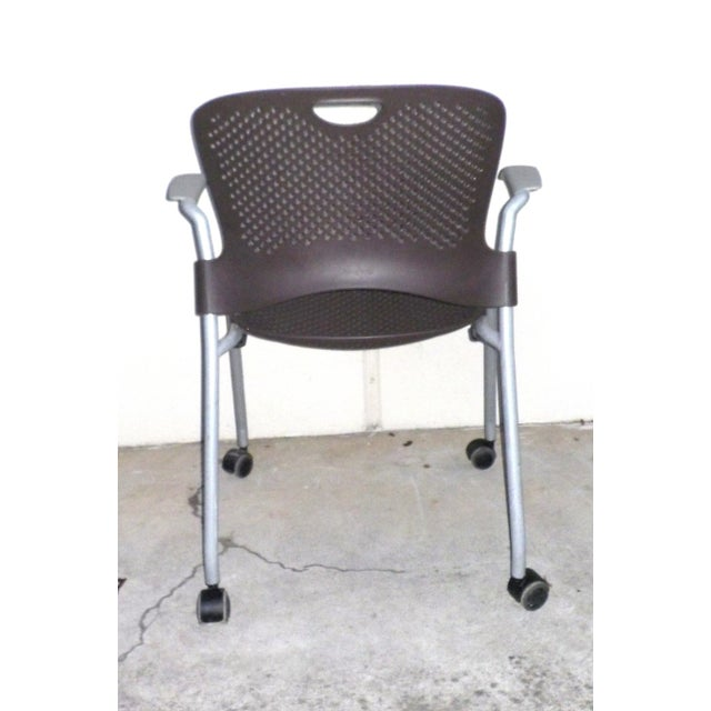 Herman Miller Casper Stacking Office Chair - Image 5 of 7
