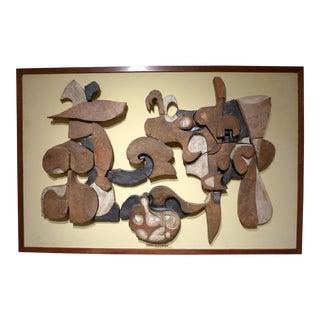 Important Frans Wildenhain Ceramic Mural