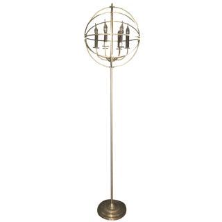 Spherical Restoration Hardware Floor Lamp