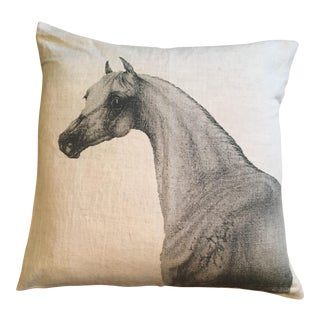 Horse Printed Pillow