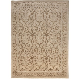 "Indian Hand Knotted Rug - 8' 10""x 12'"
