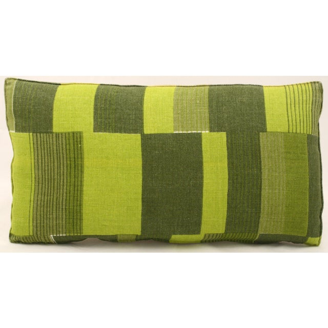 Mid-Century Abstract Bolster Pillow - Image 2 of 3