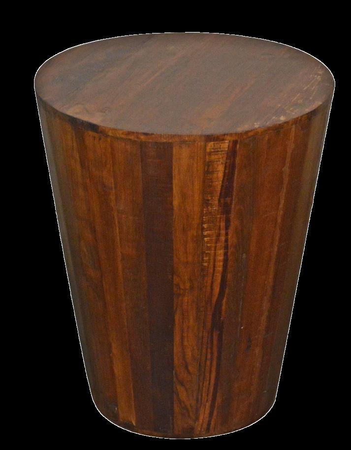 Reclaimed Barrel Stool End Table Chairish : reclaimed barrel stool end table 9912aspectfitampwidth640ampheight640 from www.chairish.com size 640 x 640 jpeg 32kB