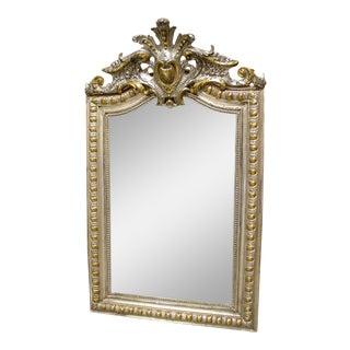 Antique Louis Philippe Style Mirror, Circa 1910