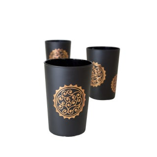 Massira Bronze Tea Glasses - Set of 6