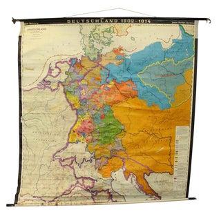 Antique Deutschland Map
