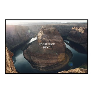 """Horseshoe Bend"" Original Framed Photograph"