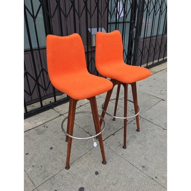Chet Beardsley Barstools - A Pair - Image 7 of 8