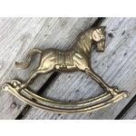 Image of Brass Rocking Horse