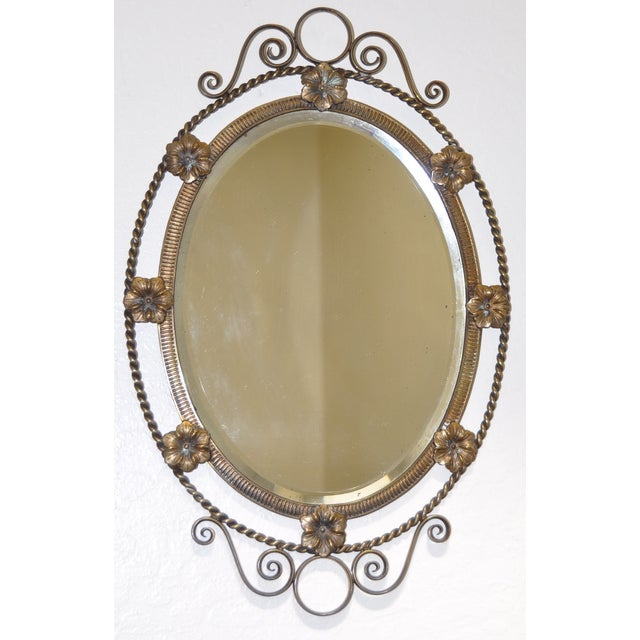 Image of French Style Portrait Mirror C.1900