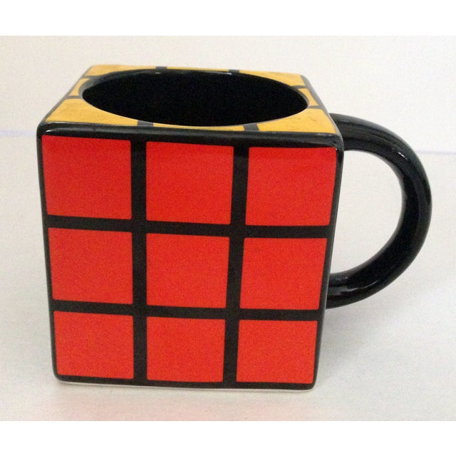 Spinning Retro Rubik's Cube Ceramic Mug - Image 5 of 7