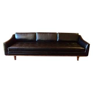 Mid Century Custom Vinyl Sofa