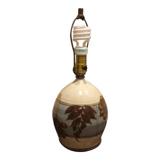 1970s Vintage Southwestern Ceramic Lamp