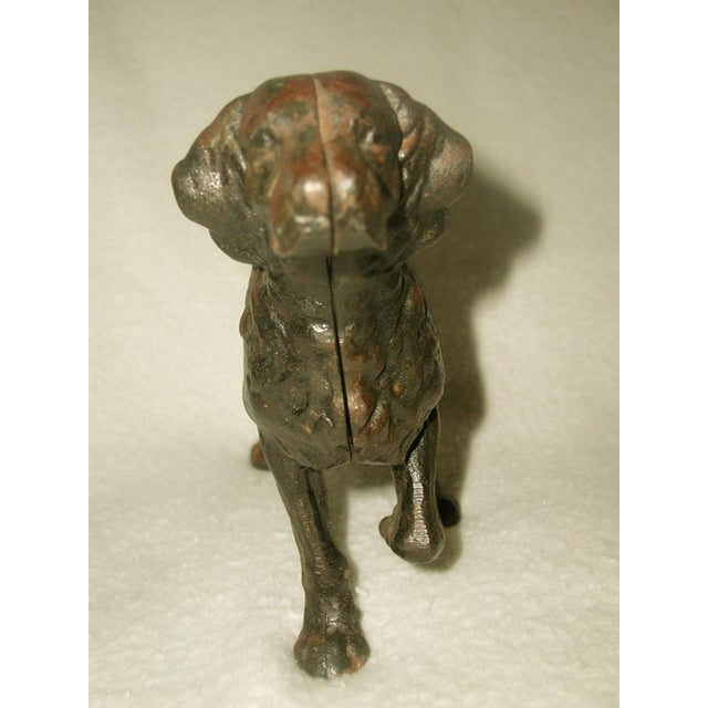 19th C. English Copper Cast Dog Setter - Image 3 of 8