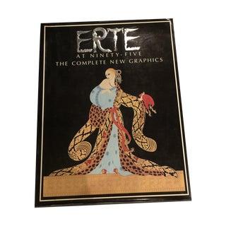 Vintage 1987 'Erte' Book