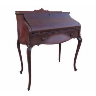 Antique French Provincial Secretary Writing Desk