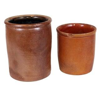 1930s Danish Stoneware - a Pair