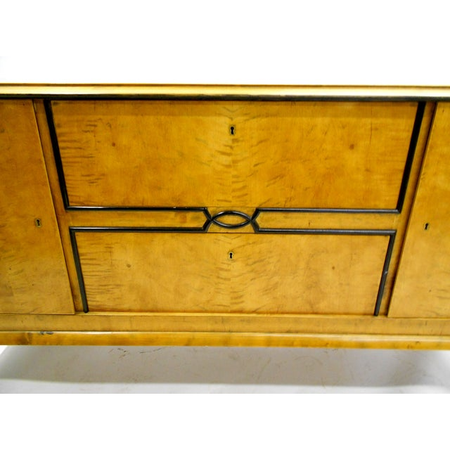 1880s Danish Birch Credenza/Buffet - Image 5 of 7