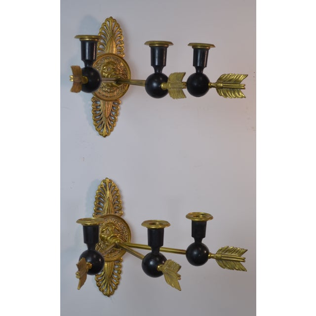 19th Century Directoire Candle Sconces - A Pair - Image 3 of 6