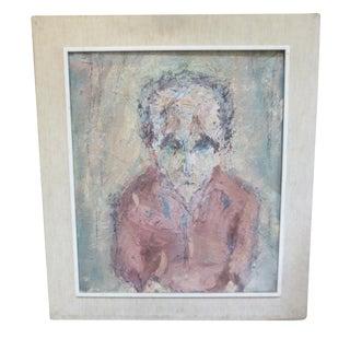 Portrait of a Man, Miriam Silberman 1960
