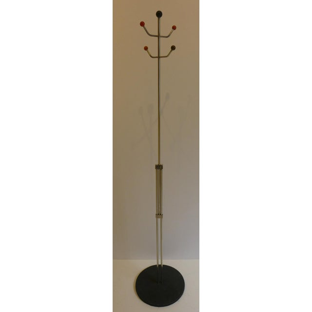 Slender Machine Age Hat Rack or Coat Rack - Image 2 of 10
