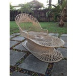 Image of Russell Woordard Fiberglass Patio Lounge Chaise