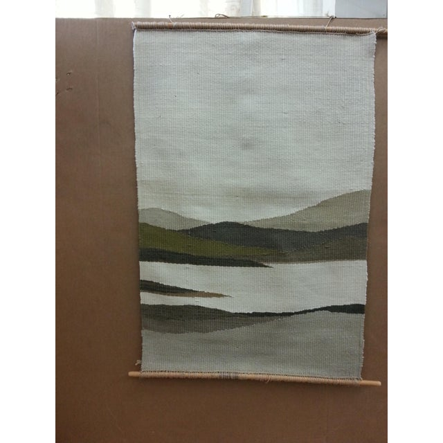 Woven Mountain Landscape Wool - Image 2 of 7