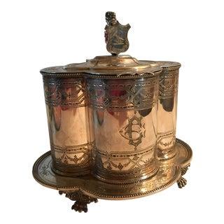 Mappin & Webb Antique Biscuit Barrel