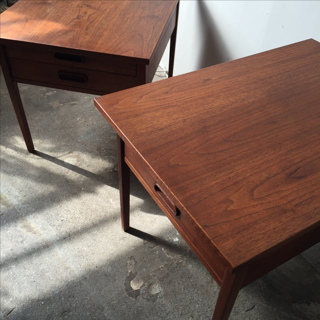 Teak Mid-Century Side Tables - Pair - Image 5 of 10