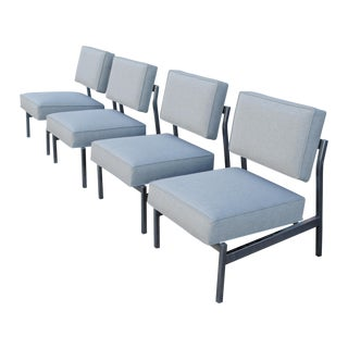 Knoll Style Mid-Century Modern Lounge Chairs - 4