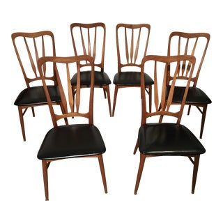 Koefoeds Hornslet 'Ingrid' Chairs - Set of 6