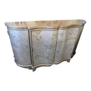 Lillian August Gold Credenza
