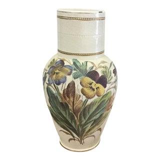 1920's Tapestry Vase