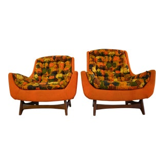 Adrian Pearsall Mid Century Lounge Chairs - a Pair