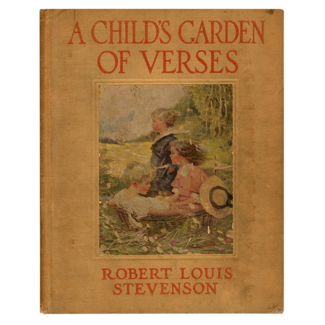 Robert Louis Stevenson Child 39 S Garden Of Verses Chairish