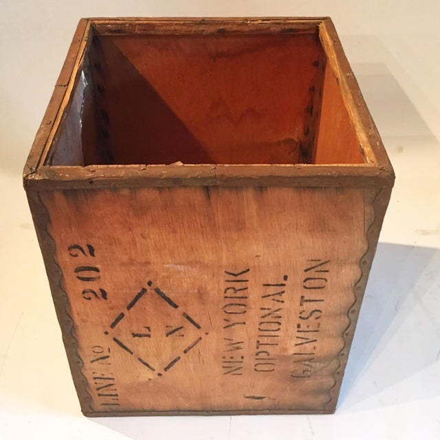 Vintage New York Shipping Crate - Image 3 of 5