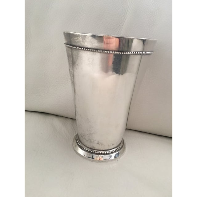 Image of Traditional Silver-Plated Vase