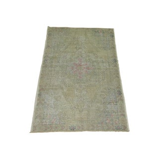 Shabby Chic Turkish Rug - 4'4'' X 7'1''