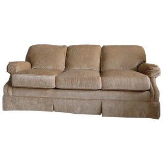 King Hickory Furniture Gold Sofa