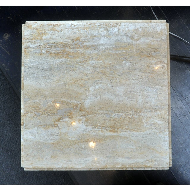 Stone Side Table - Image 4 of 7