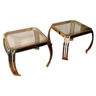 Karl Springer End Tables - A Pair