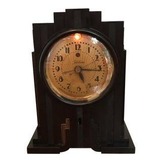 Telechron Electrolarm Art Deco Skyscraper Clock