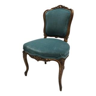 Antique Gilt Ballroom Chair