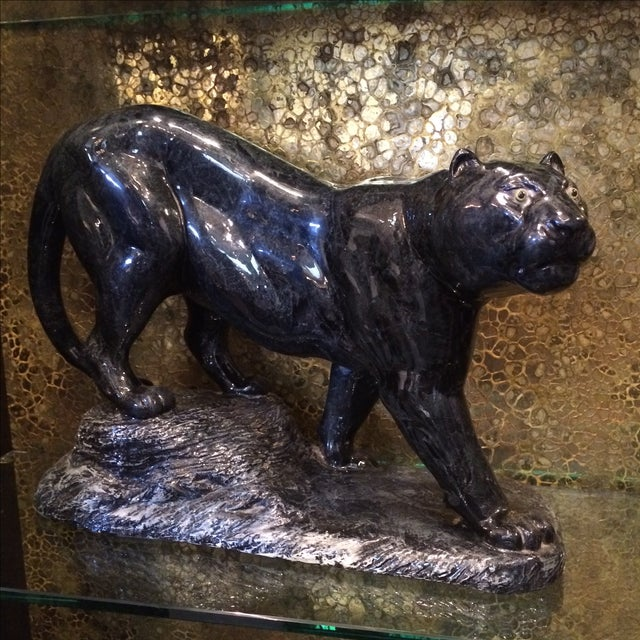Black Panther Statue - Image 2 of 7