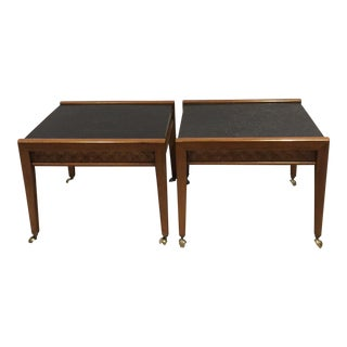 Broyhill Diamond Head Side Table - A Pair