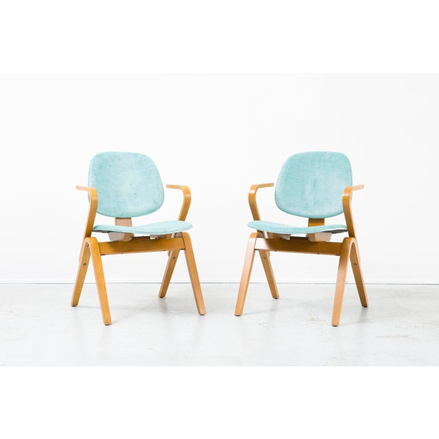 Set of Joe Atkinson Chairs - Image 3 of 11